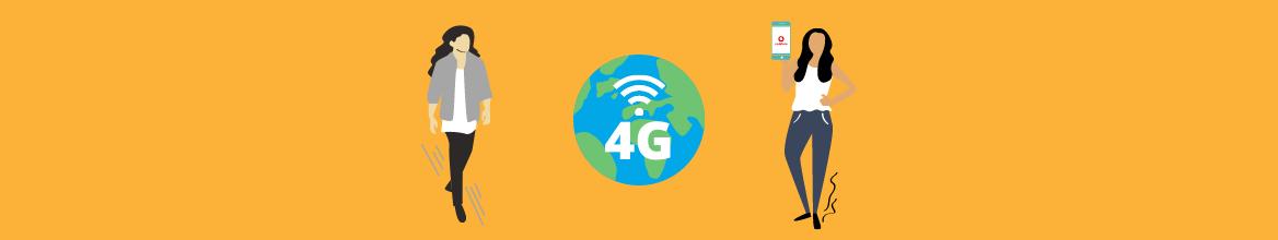 VoLTE Vodafone: bellen via het 4G netwerk