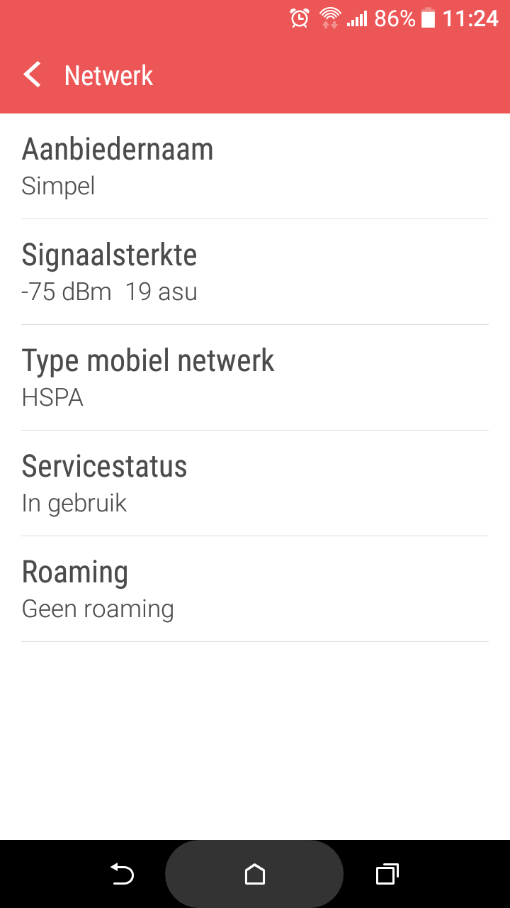 Android / Netwerk