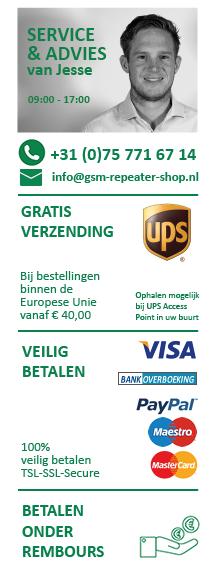 Customer Service - neem contact op voor meer informatie